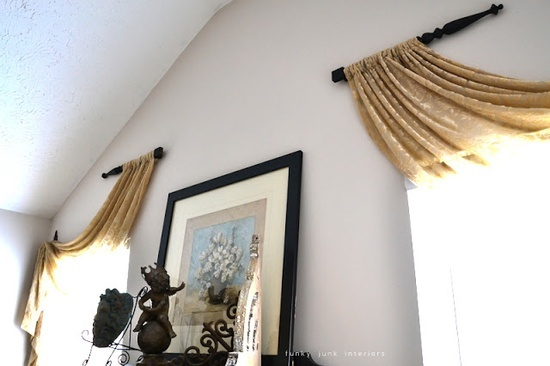 Curtain Rod Ideas Decor Ideas Unique Window Treatment
