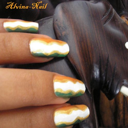 Complete World Cup Nail Art 2014 Gallery - #cotedivoire #ivorycoast #soccernails