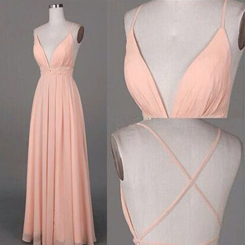 Long+bridesmaid+dress,+backless+bridesmaid+dress,+chiffon+bridesmaid+dress,+popular+bridesmaid+dress,+cheap+v+neck+bridesmaid+dress,+NDS362  This+dress+could+be+custom+made,+there+are+no+extra+cost+to+do+custom+size+and+color.  Description+of+long+bridesmaid+dress 1,+Material:+chiffon,+elast...