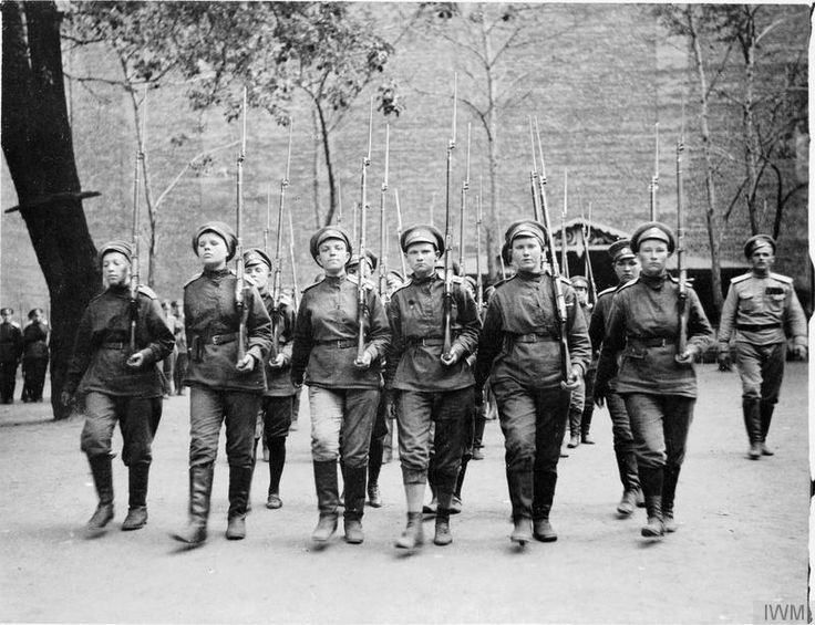 WOMEN IN RUSSIA DURING THE FIRST WORLD WAR