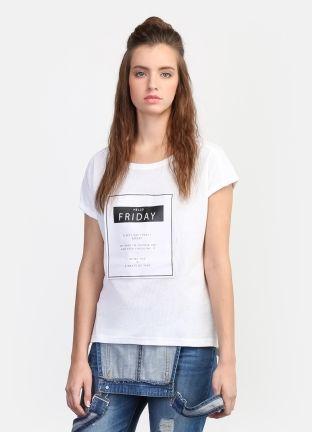 Принтованная футболка за 899р.- от OSTIN