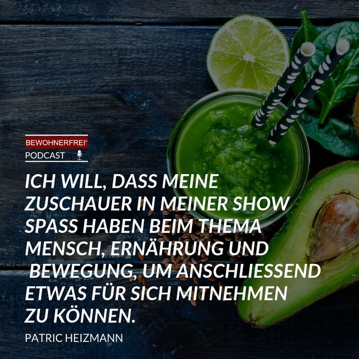 Ich Bin Dann Mal Schlank Patric Heizmann Bewohnerfrei Bewohnerfrei Podcast Inspiration