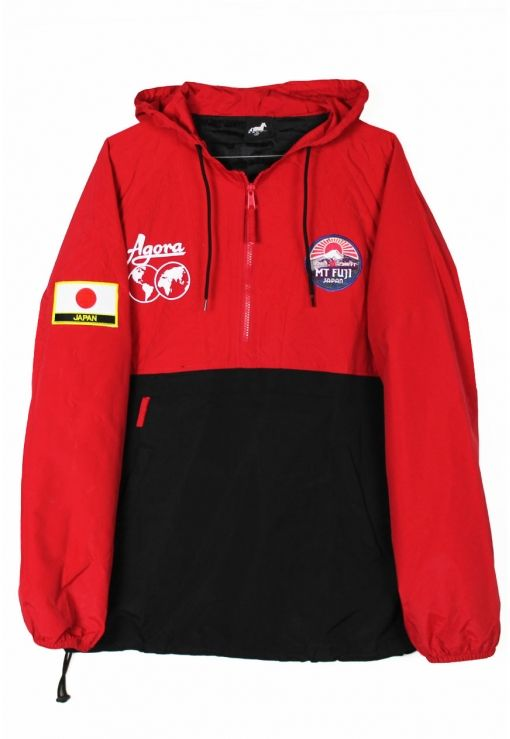 04b968af2a3 Mt Fuji Pullover Jacket | F L A V O R | Jackets, Shirts, Windbreaker jacket