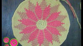 Tutorial Mochila Wayuu Ganchillo | Crochet - Parte 1 - YouTube