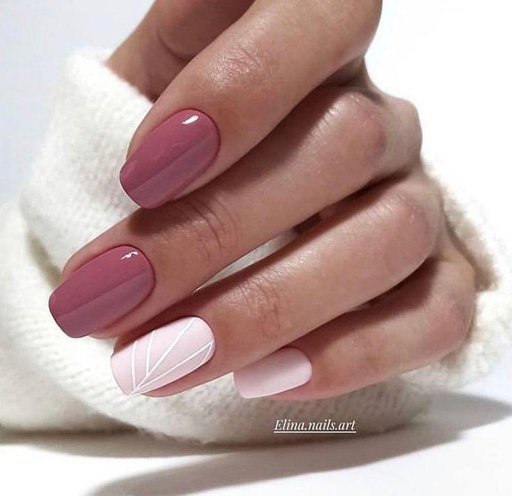32 eye-catching nail design ideas, perfect for four seasons #nails #nailart #nailp