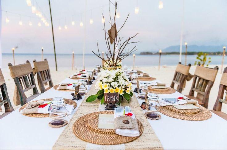 Wedding dinner  at Tugu Lombok