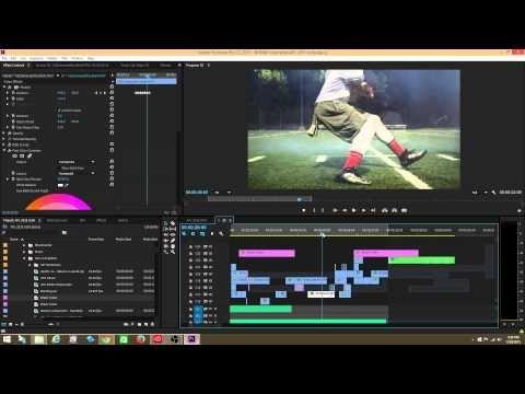 Adobe Premiere Pro Tutorial: The Jitter/Camera Shake/Earthquake Effect - YouTube