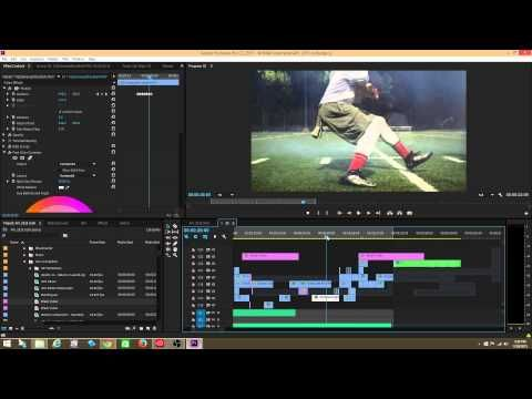 Adobe Premiere Pro Tutorial: The Jitter/Camera Shake/Earthquake Effect - YouTube