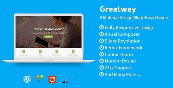 Greatway - Material Design WordPress Theme  -  https://themekeeper.com/item/wordpress/greatway-material-design-wordpress-theme