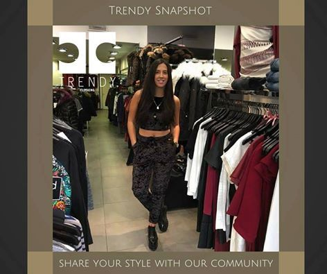 What a Trendy Snapshot!  Share your style with our Trendy Community!!!Love velvet...