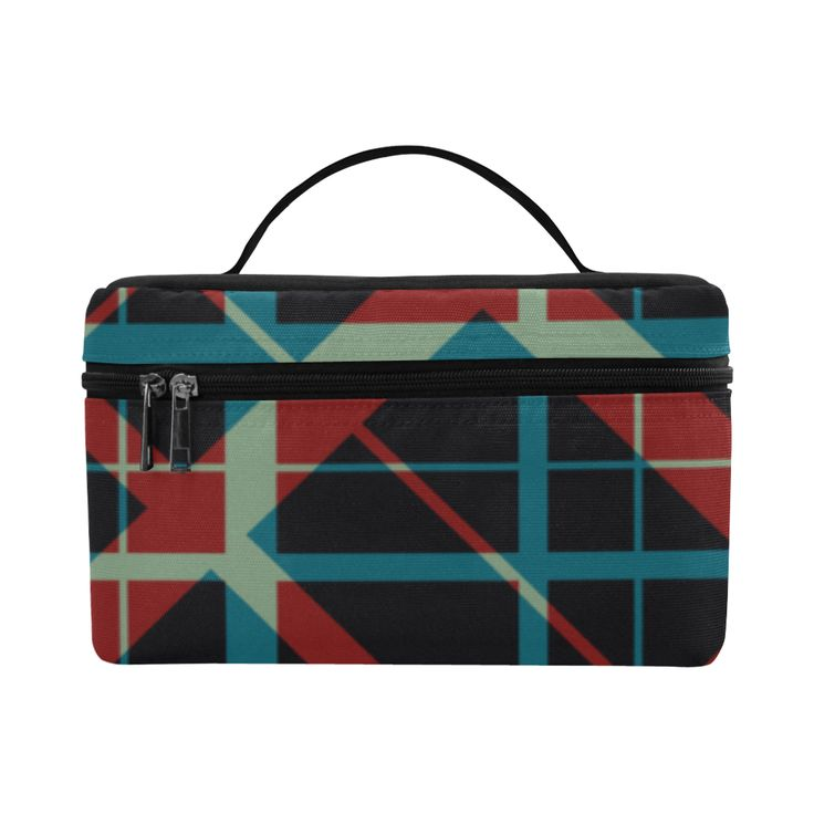 Plaid  I pattern Hipster style Modern Cosmetic Bag/Large by Scar Design. #toiletrybag #toiletry #cosmeticbag #travelbag #travel #weekendtravelbag #family #onlineshopping #shopping #artsadd #gifts #scardesign #bag #style #fashion #giftsforhim #giftsforher #39 #design #classic #plaid #classicstyle  #toiletrytravelbag