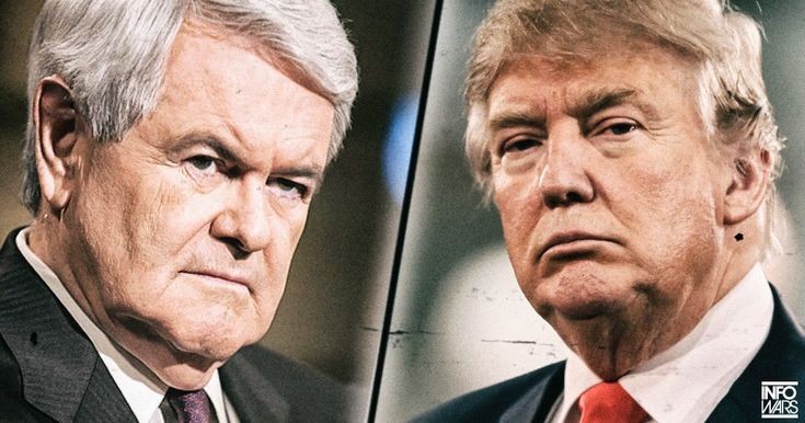 REPORT: TRUMP REFUSED $200 MILLION TO PICK GINGRICH AS VP -- Establishment tries to control Trump through VP pick