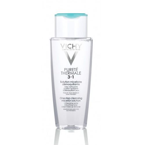 Уникальное средство для чувствительной кожи, произведено на основе мицеллярной технологии. Purete Thermale от Vichy эффективно очищает кожу и бережно снимает макияж с лица, глаз и губ. Успокаивает кожу и снимает раздражение и отечность благодаря содержанию Термальной Воды Vichy и экстракта розы галльской. Не сушит кожу, не раздражает слезные железы. Разработанный специалистами Vichy Purete Thermale не содержит масел. pH нейтральный. Не содержит красителей и отдушек. Гипоаллергенно. Под...