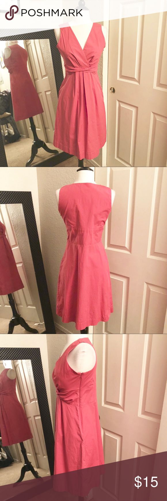 New York & Co. Salmon Dress Size 4 Preowned New York & Co. Salmon Dress Size 4 New York & Company Dresses