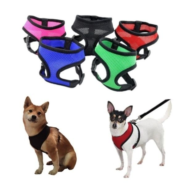 Adjustable Soft Breathable Dog Harness Vest Harness For Dogs Puppy