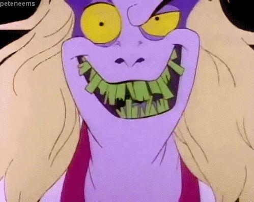 90s horror cartoon beetlejuice
