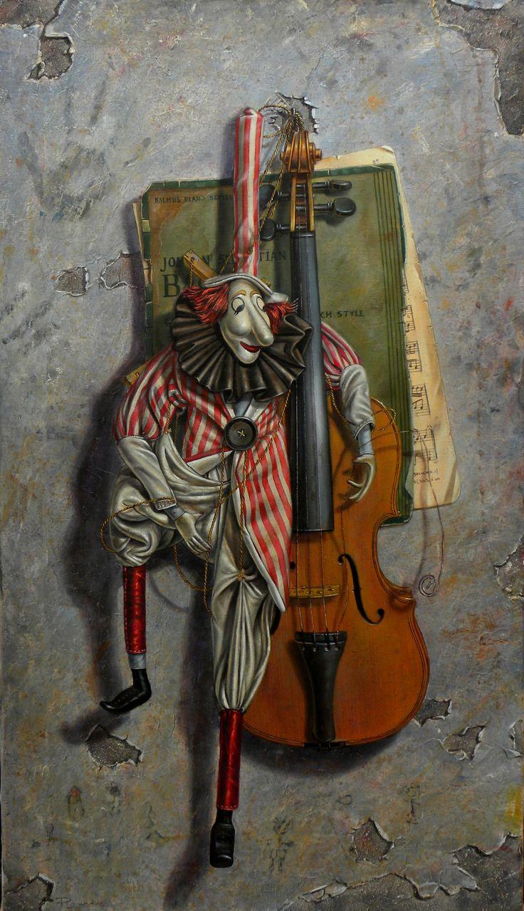 Marioneta Oleo sobre Lienzo http://ricardorenedo.gallery/