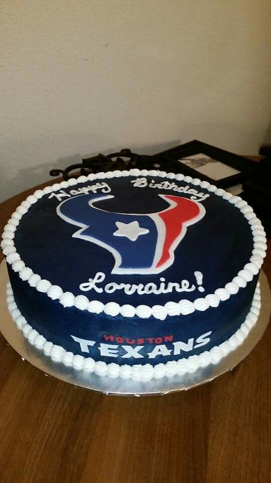 Houston Texans cake