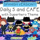 *Please note this is the SPANISH version of my Daily 5 and CAFE Poster set*  This package contains everything you need for using Daily 5 and CAFE i...