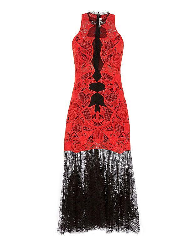 Shop the Jonathan Simkhai Contrast Lace Hem Dress & other designer styles at IntermixOnline.com. Free shipping +$150.