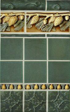 crafstman style bathrooms   Craftsman Style - craftsman - bathroom tile - portland - by Pratt and ...