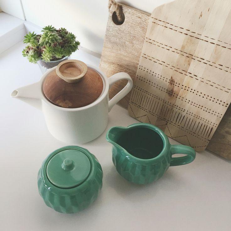 Mint green tea set tigerstores home