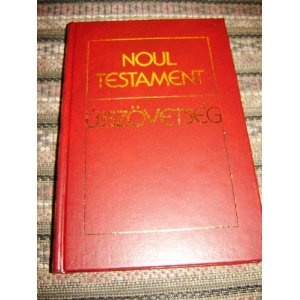 Romanian Hungarian Bilingual New Testament / Noul Testament - Ujszovetseg  $29.99