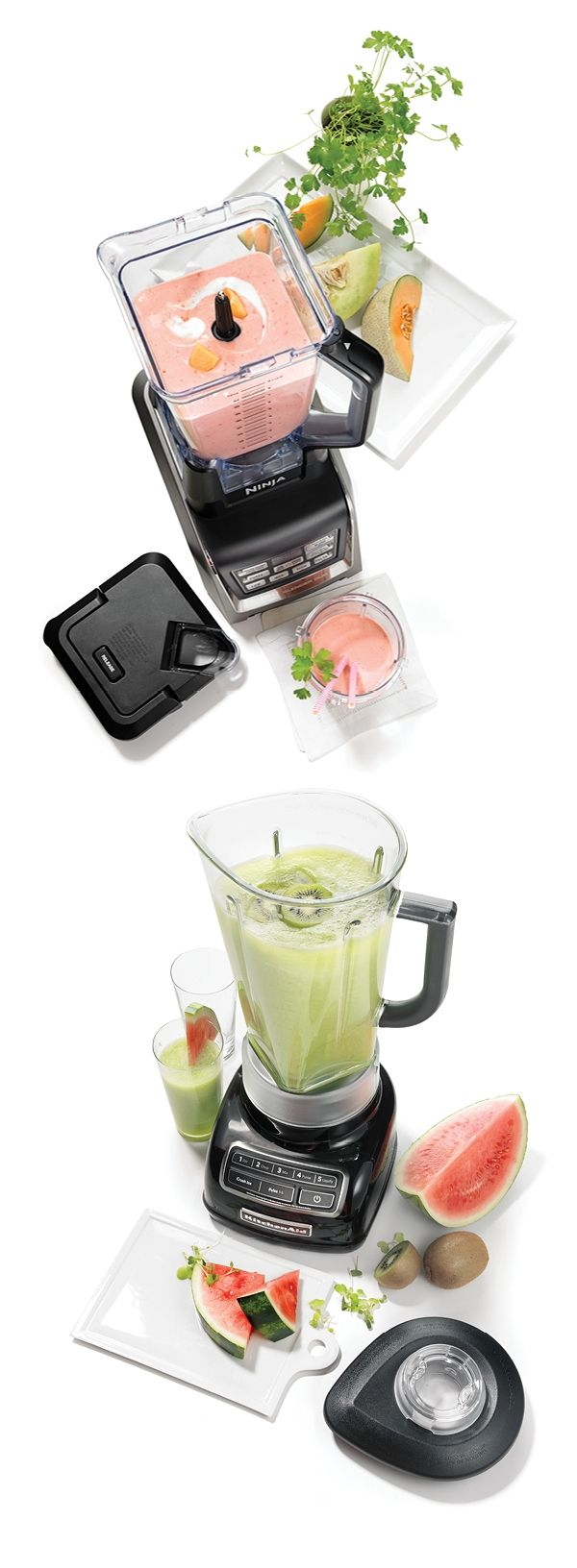 As the temperatures warm up, make sure you have the perfect way to cool down all season long — Ninja & KitchenAid blenders