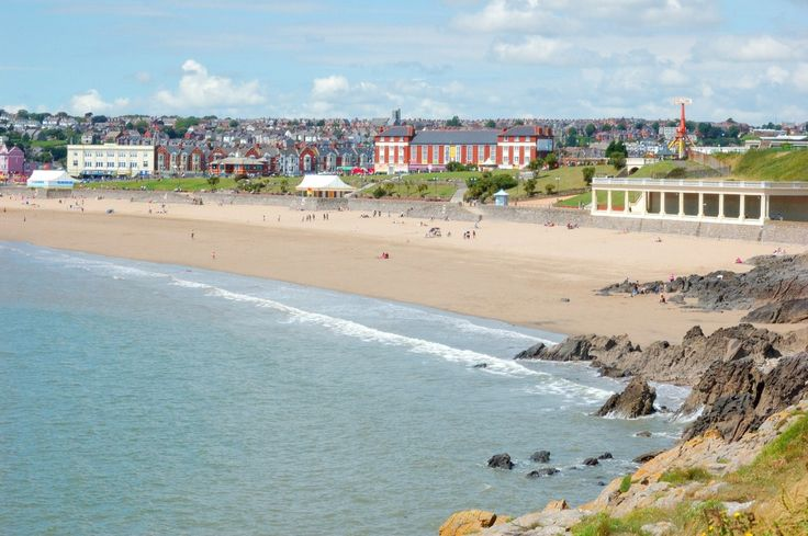 Barry Island - South Wales - This is where my Husband proposed to me at ....