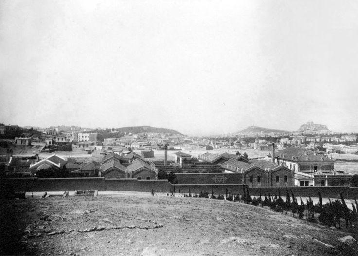 Αθήνα, 1929, γενική άποψη του Νοσοκομείου Συγγρού.