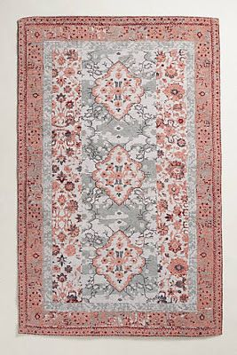 Anthropologie Favorites:: Bohemian Global, Moroccan, Persian, Novelty, Abstract, Geometric, and Floral Rugs (and Curtains)