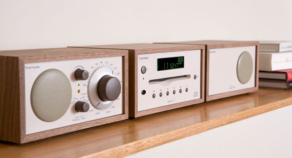 Tivoli Radio Combo Component Stereo System -- oh man, now I really want these other components to accompany my lonely stereo!