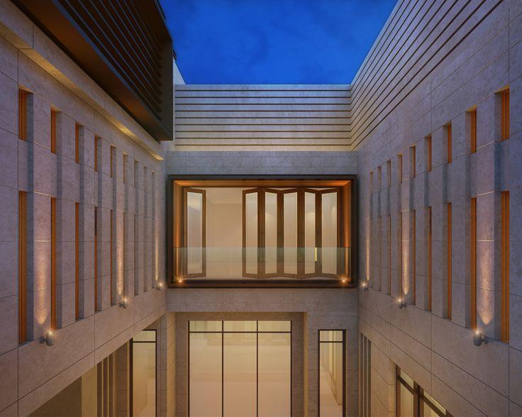 1000 m private villa al dahya sarah sadeq architects sarah sadeq architectes pinterest. Black Bedroom Furniture Sets. Home Design Ideas