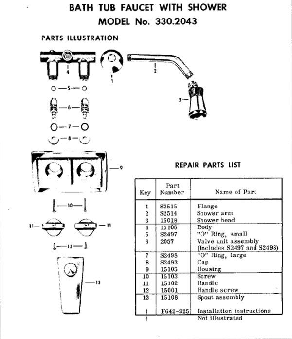 Photo Album For Website Bathtub Faucet Parts