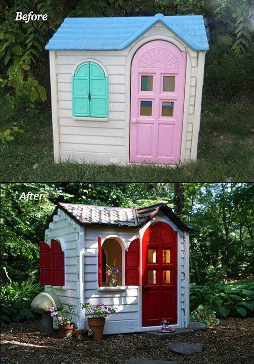 Refurbished playhouse