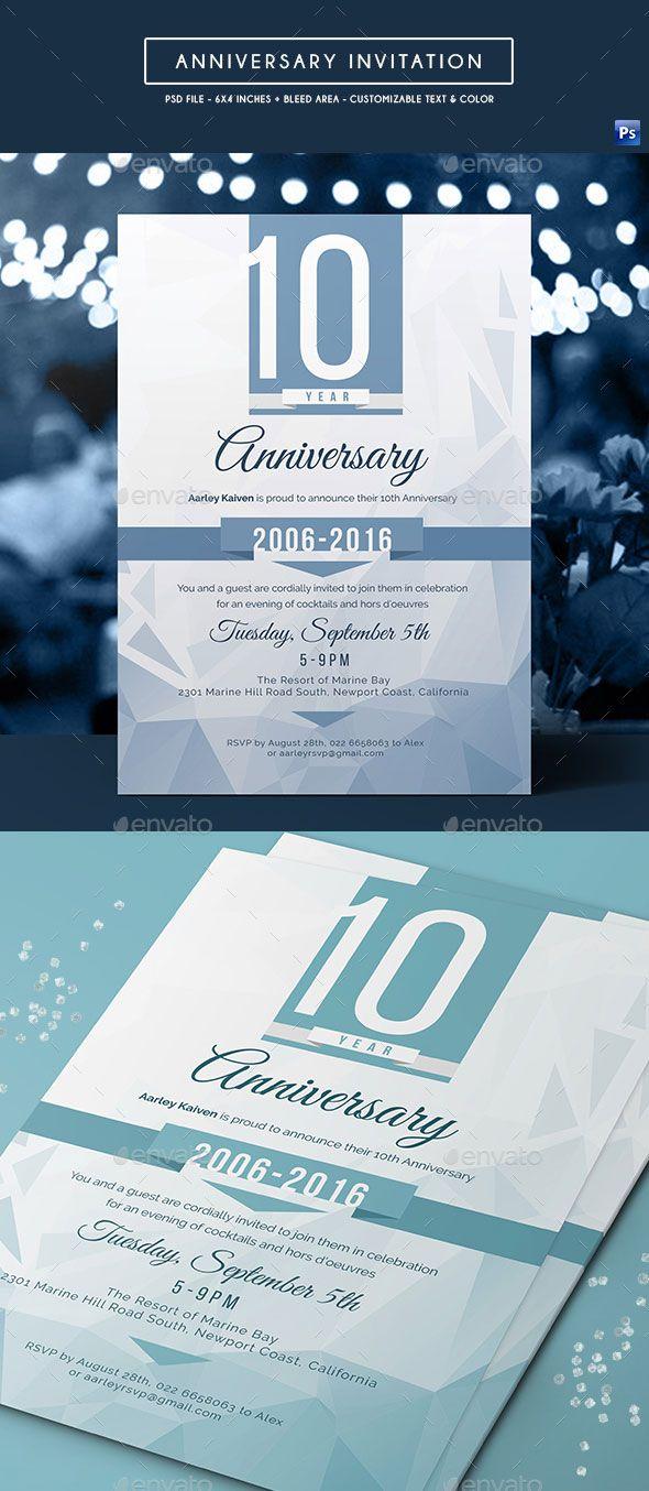 Anniversary Anniversary Party Annual Birthday Business