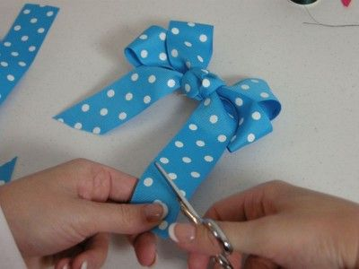 How To Make Hair Bows, Video & Step by Step! | kids ...