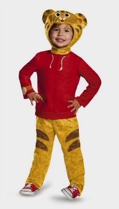 Amazon: Disguise Daniel Tiger's Neighborhood Daniel Tiger Classic Toddler Costume http://amzn.to/2c9QmFw