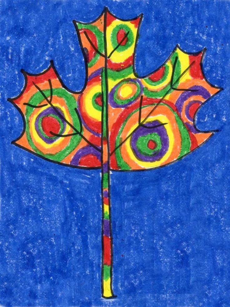 Kandinsky Leaf Project. #kandinsky #fall