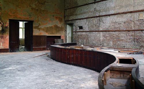 offizierskasino der veranstaltungssaal im waldlager von. Black Bedroom Furniture Sets. Home Design Ideas