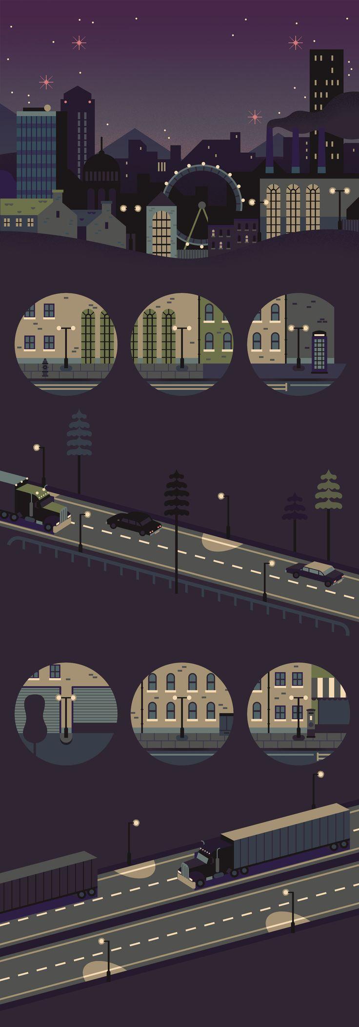 Sony - Owen Davey Illustration