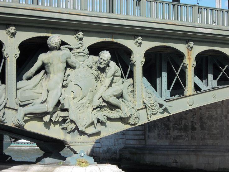 Détail d'un pont de Paris