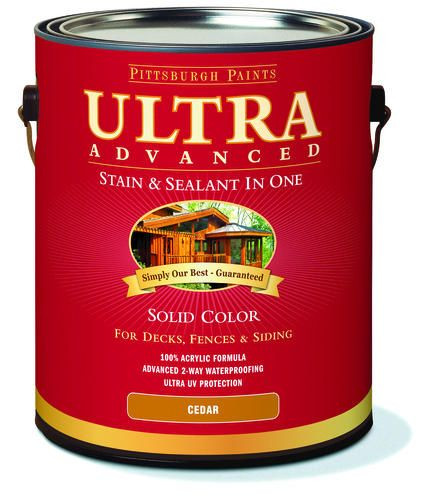 Pittsburgh paints ultra advanced solid color deck fence - Pittsburgh exterior paint reviews ...