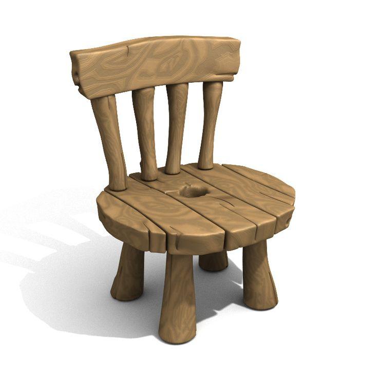 48 best cartoon 3d models images on pinterest character for Dutch design chair karton