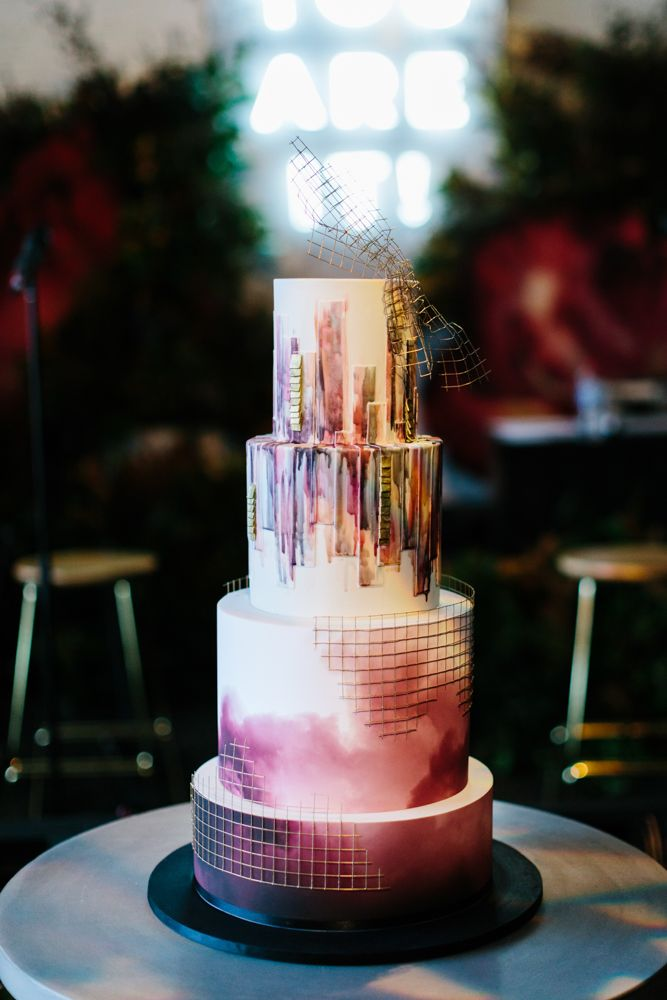 Winter Warehouse Wedding / Photography: Erin & Tara