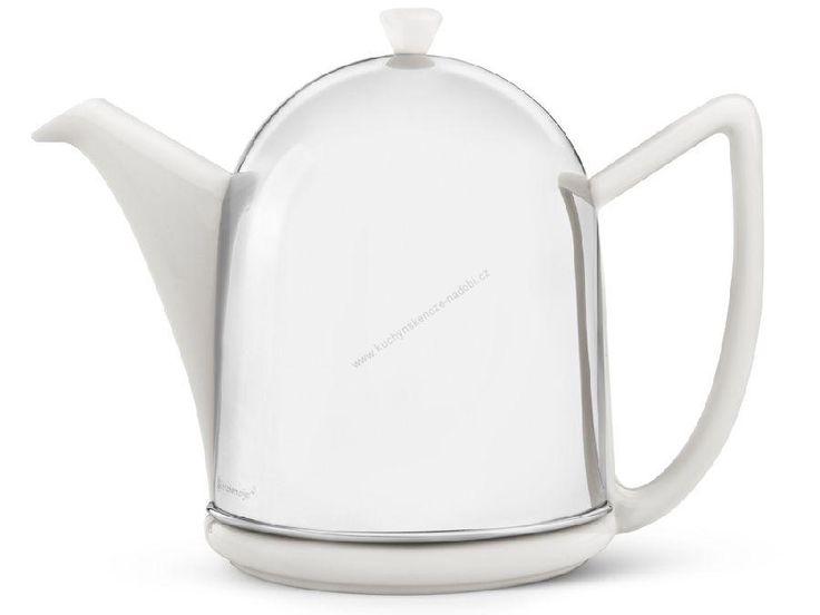 Čajová konvice Manto 1,5L bílá - Bredemeijer