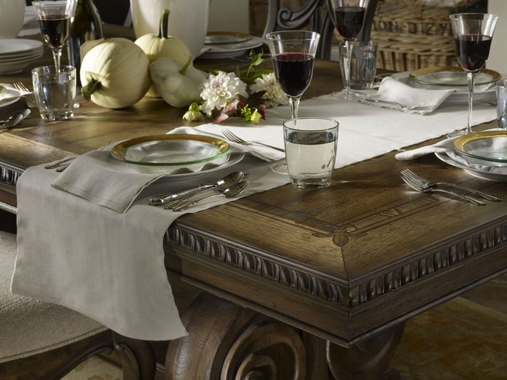 Set Your Table In Casual Elegance With Rhapsody This Holiday Season,  Welcoming Your Guests.