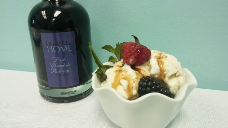 ... Balsamic Vinegar and Brown Sugar Glaze on berries, ice cream or baked