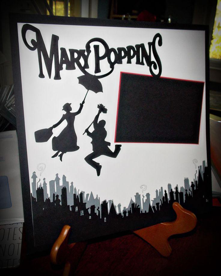 Cricut Explore: Mary PoppinsLayout