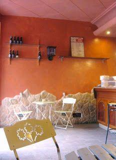 #arancione#garbatella#al solito posto pittura a più mani con finitura protettiva